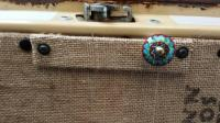 Burlap Bean Bag Hatch Panel
