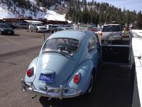 My 1967 bug at heavenly ski area Lake Tahoe