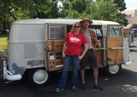 The Toaster, Dadacheese and Kathy at Lakeport 2014