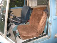 New Home Made Covers on 1971 VW Bus Seats