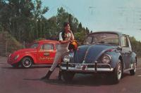 EMPI Inch Pincher & 1967 GTV Beetle Postcard