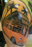 my squareback tattoo
