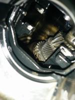 inside gearbox