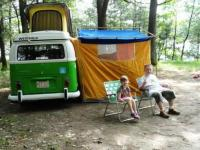 70 westy camping trip
