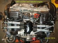 1977 fuel injected bus engine