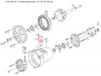 Bosch AL82 alternator exploded diagram