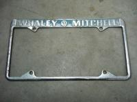 Whaley Mitchell plate frame