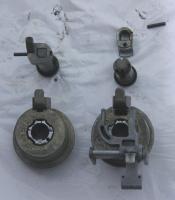 Rear hatch lock - powered / standard