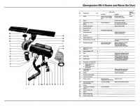 VW Thing BN-4 Heater Ductwork Diagram