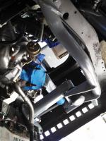 1.8T install using TS Diesel carrier bars