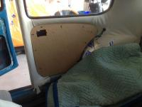 65 beetle interior install