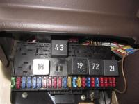 Syncro ECM, Relays and Fuses