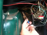 Brake light wiring for 69 bus
