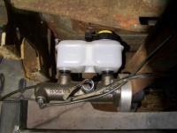 Master cylinder upgrade