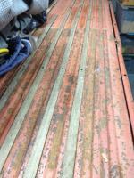1961 single cab bed wood slats