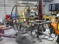 Street car chassis work