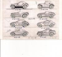 Dune buggy sketches