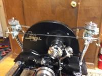 Vanguard dual carb set up