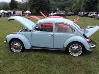 My 1972 Super Beetle at Summer Jam