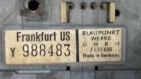 Blaupunkt Frankfurt US Radio