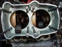 Inside engine