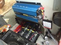 Foldable Solar Charger Setup