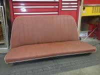brick red 'vert rear seat