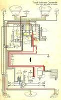 '61-'65 Beetle wiring diagram