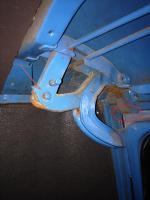 Rear hatch leak area