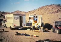Camping in the Mojave Desert 1968.