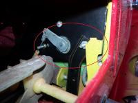glove box brace