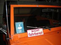 VW Thing - Nicht Fahrbereit