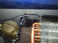 AC Evaporator falling out