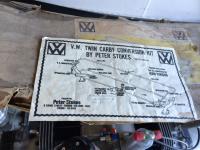 ken virgin/peter stokes 36/40hp twin carb kit