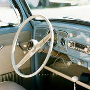 My 1959 Fjord Blue Interior With Original Gas Gauge Option