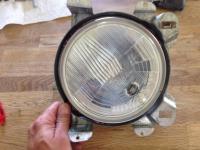 Headlight round 7 inch tab conversion