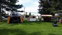 My Dormobile Westy with big top tent set up