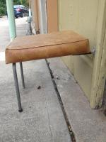 Folding Stool for a Bus?