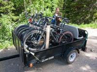 bike rack trailer
