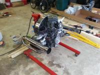 sand rover t bug stock 1600 built and engine stand build up