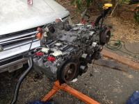Wiring harness and removing wasserboxer