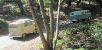 Camping trip on the Pacific Coast