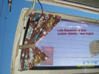late bay window bus curtains - rear hatch