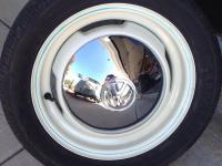 Split Window Bus Wheel and Reflection