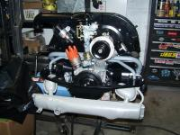 Engine going together