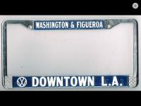 Downtown LA license frame