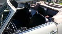 """New"" old seats in 1971 cabrio"