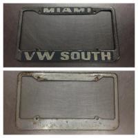 VW South - Miami Dealer Frame