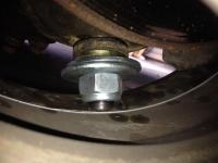 lower ball joint not seating