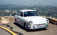Seta's car on top of Mt. Helix in SD